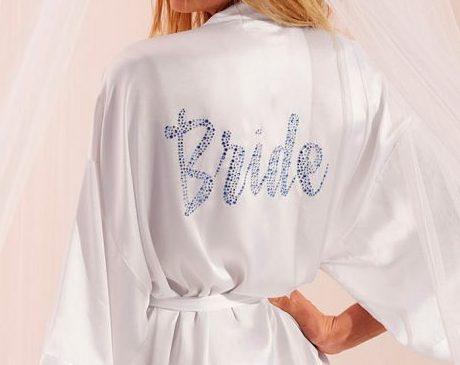 "Tenemos la bata Victoria´s Secret ""Bride"""