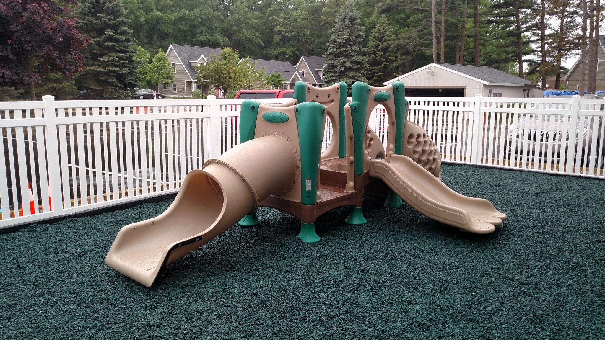 Nursery outside play ground