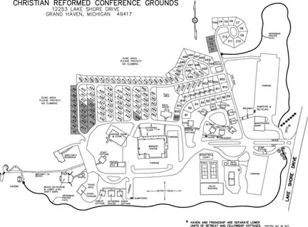 Campground Map – Christian Reformed Conference Grounds