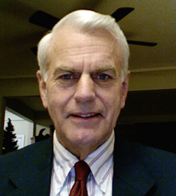 President of the Board of Trustees E. F. Michael Morgan