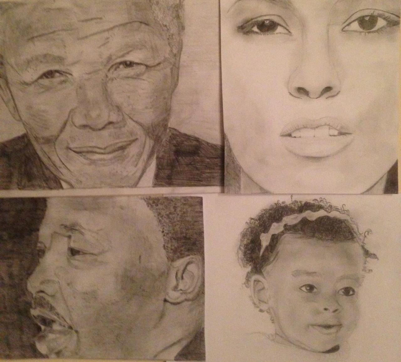 Black History Drawings