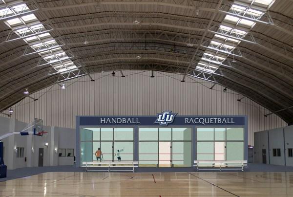 Handball Courts at LCU
