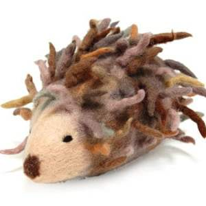 Needle Felting Big Hedgehog Kit-0