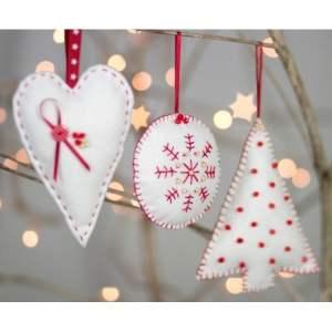 Christmas Decorations Felt Craft Kit-0