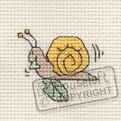 Tiddlers Cross Stitch Kits - Snail-0