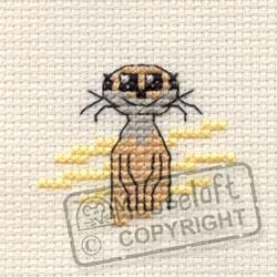 Tiddlers Cross Stitch Kits - Meerkat-0
