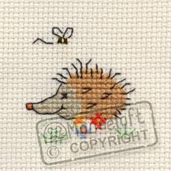 Tiddlers Cross Stitch Kits - Summertime Hedgehog-0