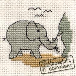 Stitchlets Cross Stitch Kits - Baby Elephant-0