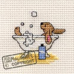 Stitchlets Cross Stitch Kits - Bathing Bunny-0