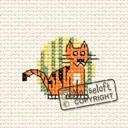 Tiger Mini Cross Stitch Kit-0