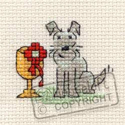 Little Dog Cross Stitch Kit - Top Dog-0
