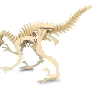 Woodcraft Construction Kit - Large Velociraptor-0