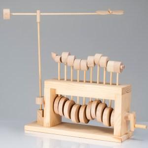 Caterpillar Wooden Automata Kit-0