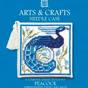 Arts and Crafts Cross Stitch Needlecase Kit-0