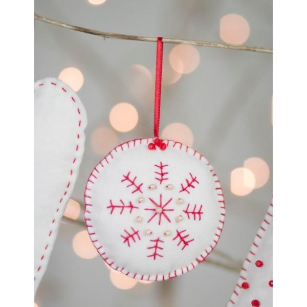 Christmas Decorations Felt Craft Kit-26307