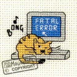 Biscuit the Cat Mini Cross Stitch Kits
