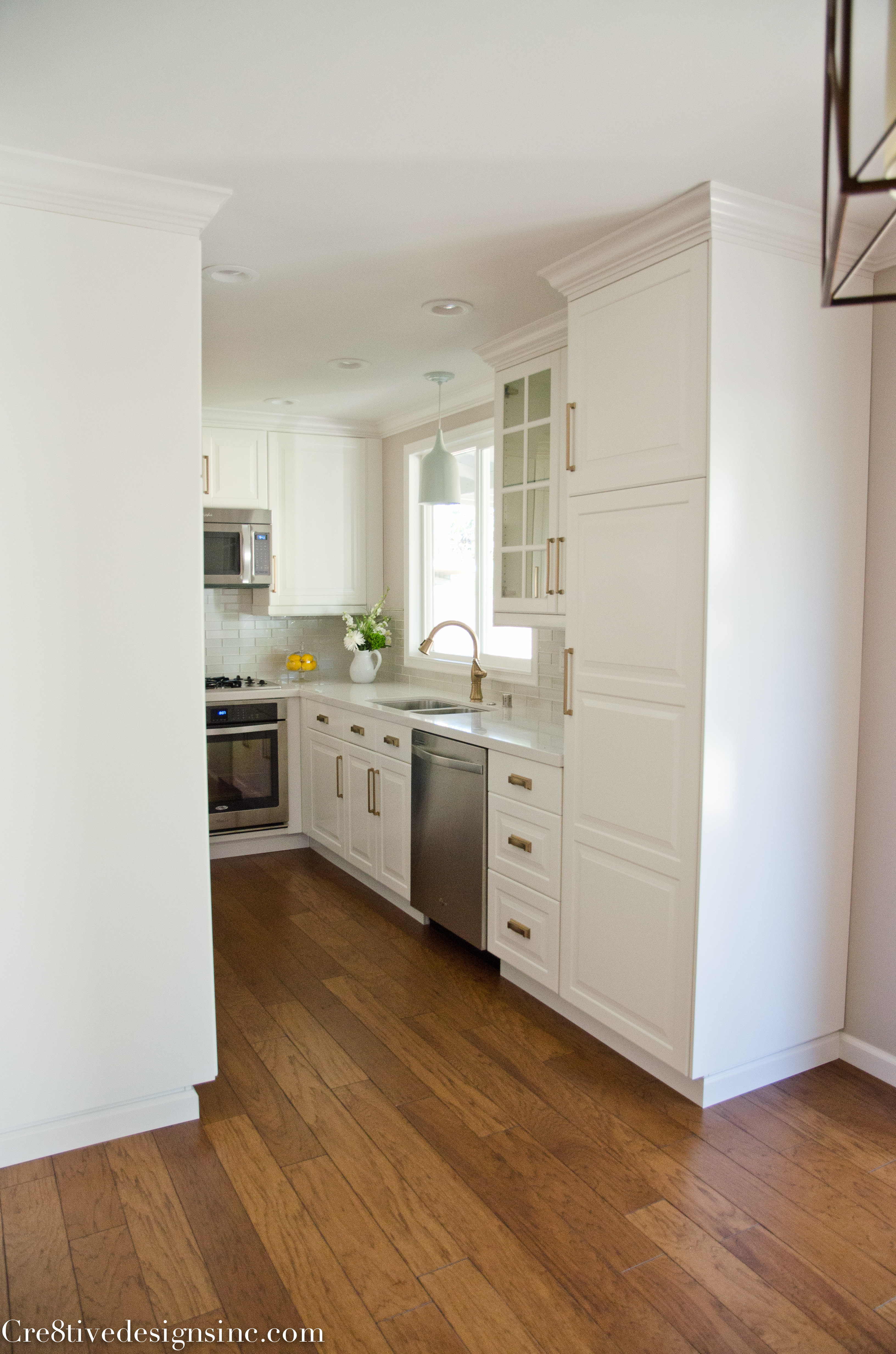 The Ikea kitchen completed  Cre8tive Designs Inc