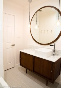 Mid Century Modern Bathroom - Cre8tive Designs Inc.