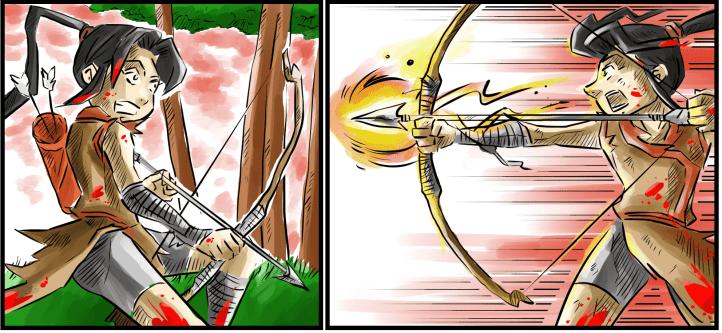 The Ryukage Comic: Ryoko Shot