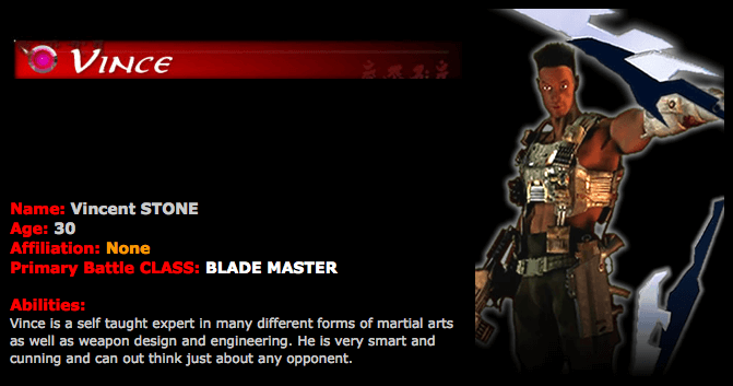 Vincent: Blade Master (Wild FIRE: L.o.R)