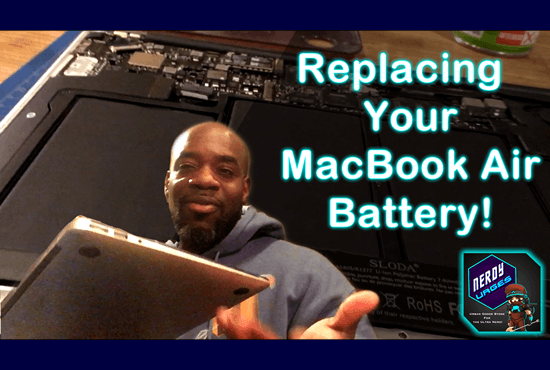 Replacing Your Own MacBook Air Battery!