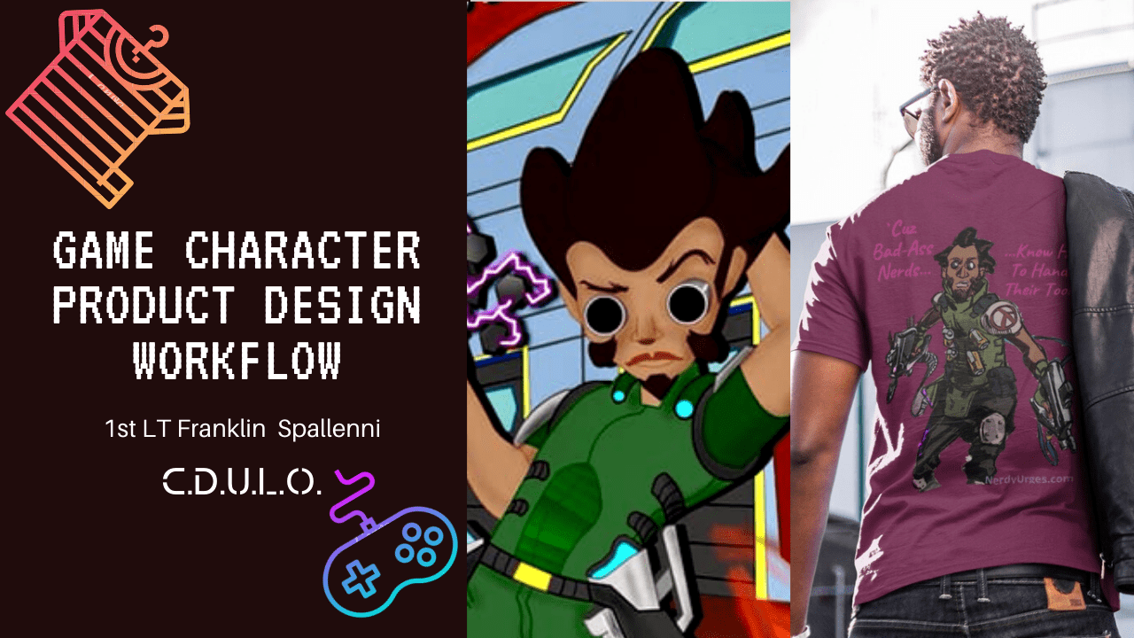Game Character Product Design Workflow