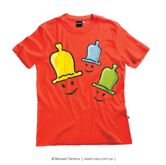 Дизайн футболки для конкурса «Naked Street Fashion»