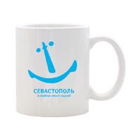 Кликайте, чтобы купить чашку с альтернативным логотипом Севастополя «Я люблю этот город»