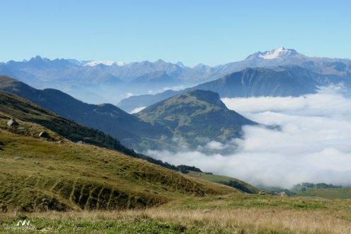 Arves Etendard Montaimont nuages