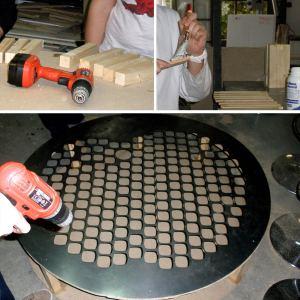 Colocación plancha aluminio