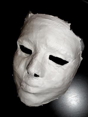 Máscara de yeso
