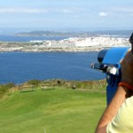 Vistas de A Coruña dende o Monte San Pedro