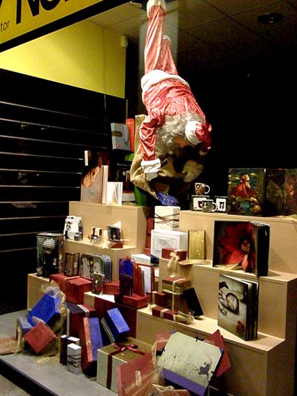 Navidad en la nobel escaparate creaciones andori a - Ideas escaparate navidad ...