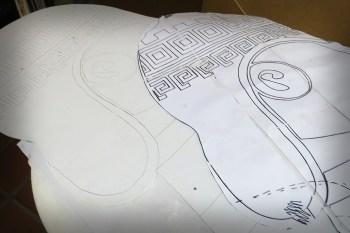 imprimación y dibujo