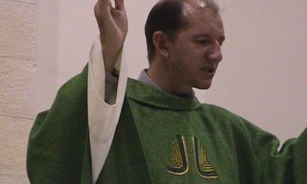 Martina Franca nov. 2000 saluto a Padre Laurindo