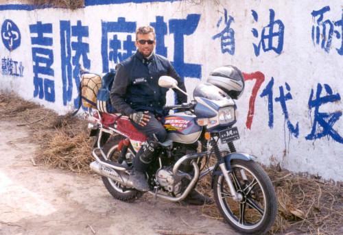Da Massa & Casalmaggiore in moto alla Cina, 49 gg