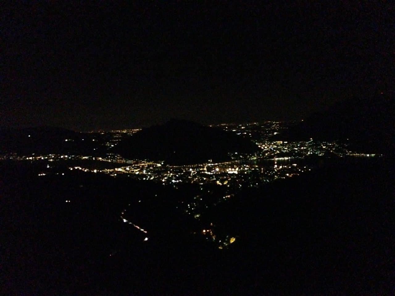 Foto Monte Barro Notturna