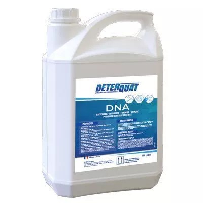 Détergent désinfectant virucide deterquat dna concentré bidon 5 litres