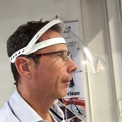 visière de protection anti coronavirus