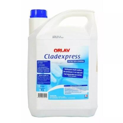 nettoyant multi surface clad express bidon de 5 litres