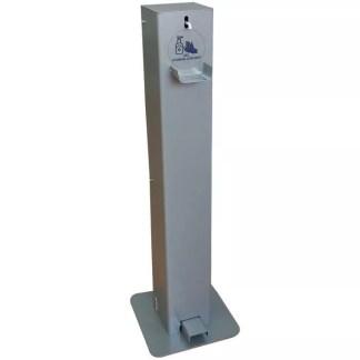 distributeur de gel hydroalcoolique sur pied