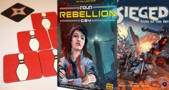 Ninja Bowling Coup Rebellion B-sieged
