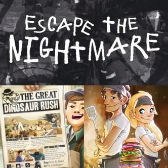 KYW Nightmare Dinosaur Burger