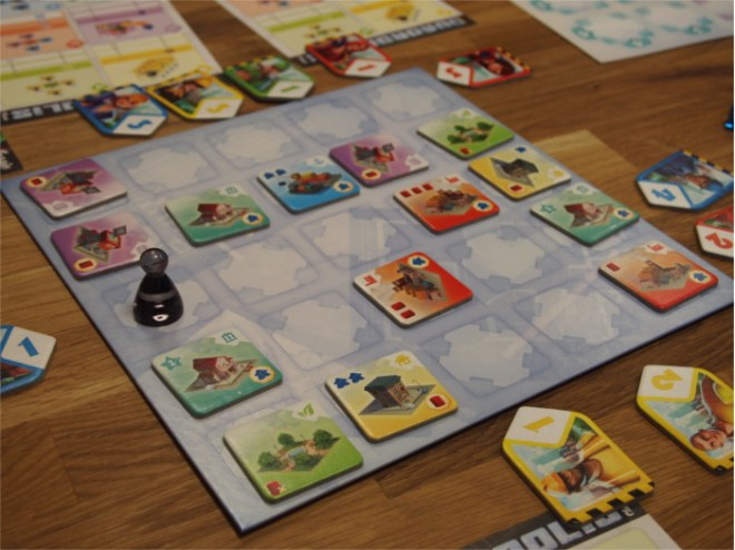 Quadropolis Main Board