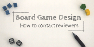 game design contacting reviewers