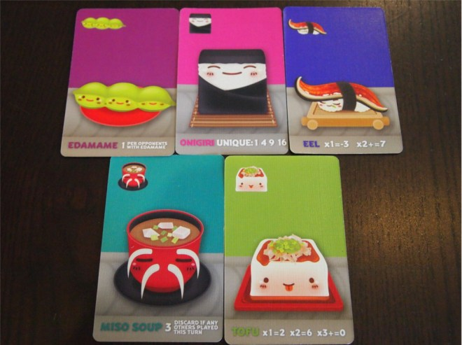 Sushi Go Party Appetisers