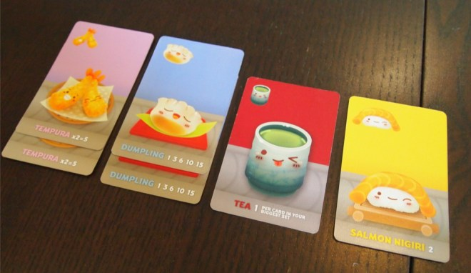 Sushi Go PArty Tableau