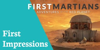 First Impressions First Martians