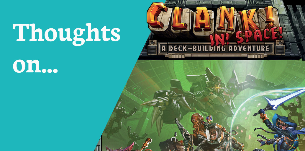 Clank! In! Space! Review – Creaking Shelves image