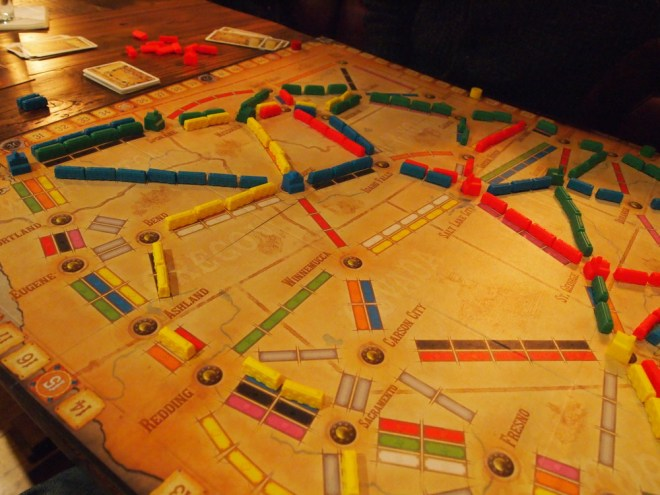 Ticket To Ride Old West Board